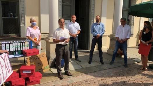 Sebastian Gilbert ordnet den unerwünschten Industriepark nicht nur aus Sicht von BÜNDNIS 90/DIE GRÜNEN ein, sondern auch aus dem Blickpunkt der in diesem Sinne unterlegenen Fraktion des Stadtrats Pirna.
